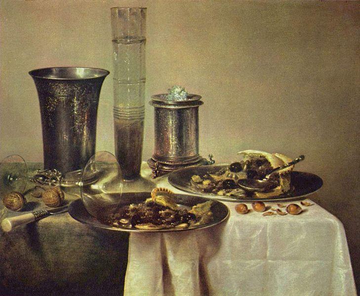 Виллем Клас Хеда, Натюрморт, 1637