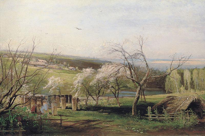 «Сельский вид» (1867), Алексей Саврасов