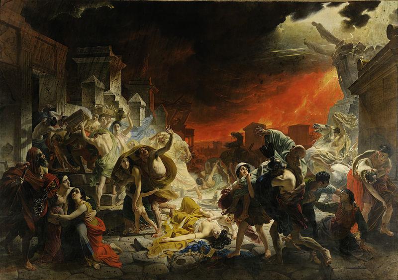 Последний день Помпеи, 1830—1833, Брюллов, Государственный Русский музей